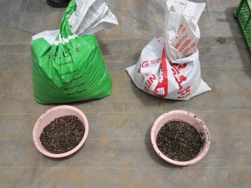 イチゴ栽培用の培土