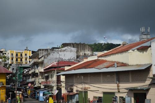 カスコアンティグオから見たアンコンの丘