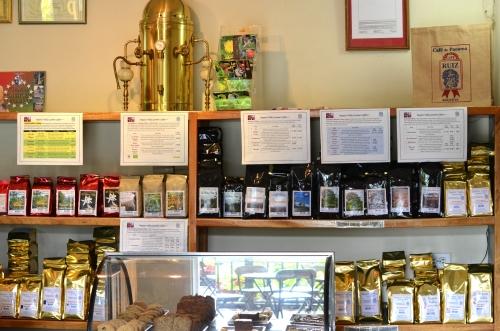 カフェルイスのコーヒー豆販売店