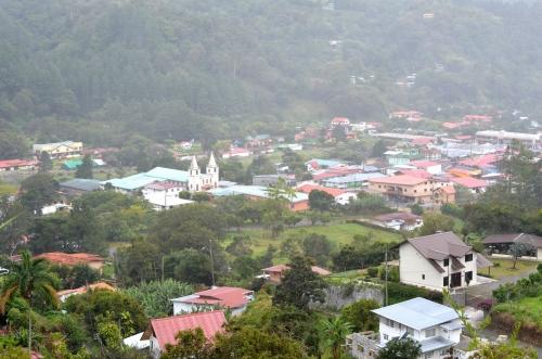 チリキ県ボケテの町