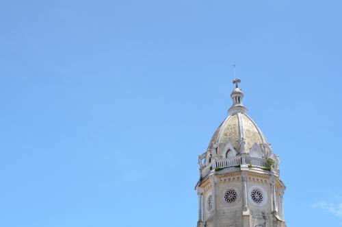 パナマ、カスコビエホのサンフランシスコ教会