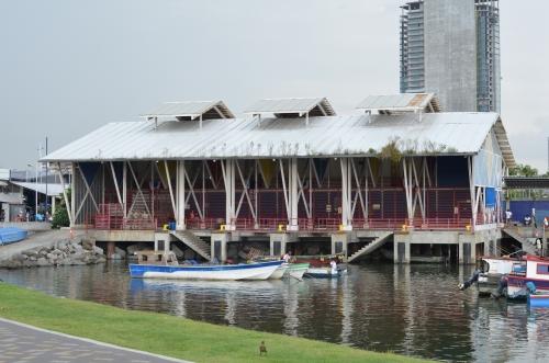 パナマシティの漁港