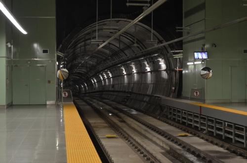 メトロの線路