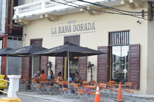 ラ・ラナ・ドラーダのカスコ・アンティグオ店