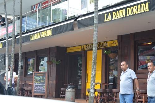 ラ・ラナ・ドラーダのビア・アルヘンティナ店