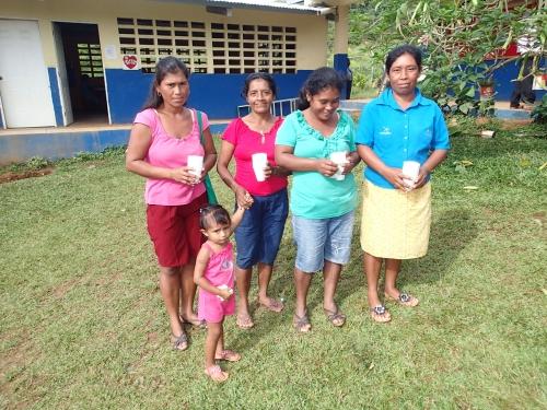 家庭菜園の講習会の参加者