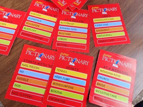 英語表記のカードゲーム