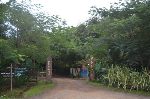 エコロッジ・Eco Venaoの入り口