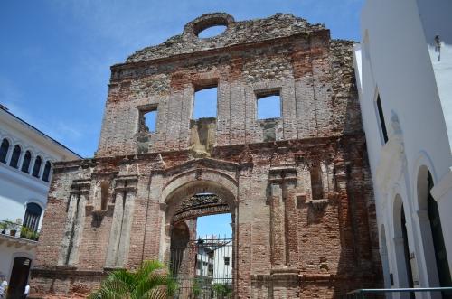 カスコアンティグオの教会遺跡