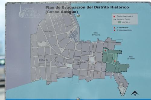 カスコアンティグオの案内図