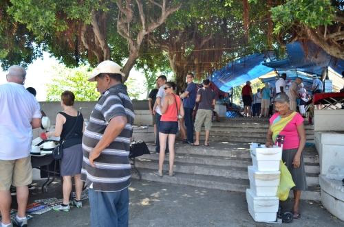 カスコアンティグオの観光客