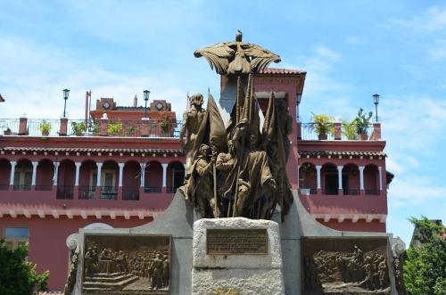 カスコビエホのボリーバル広場