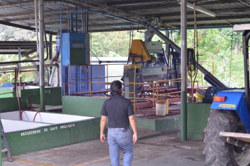コーヒー豆の選別機械
