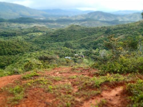 パナマの無電化集落