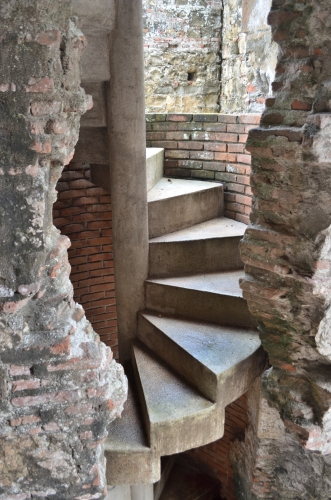 パナマ・ビエホのらせん階段