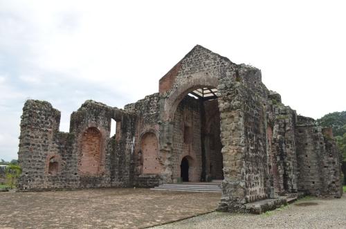 パナマ・ビエホの巨大な遺跡