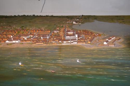 パナマ・ビエホの建設当時の模型