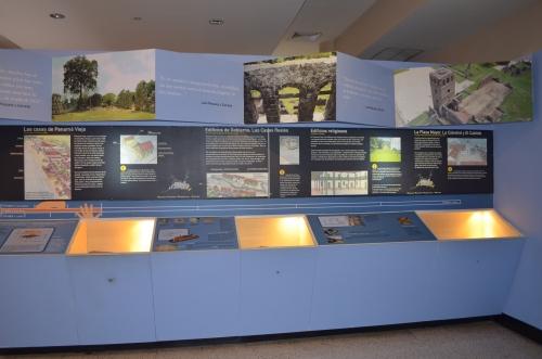 パナマ・ビエホ博物館の展示パネル