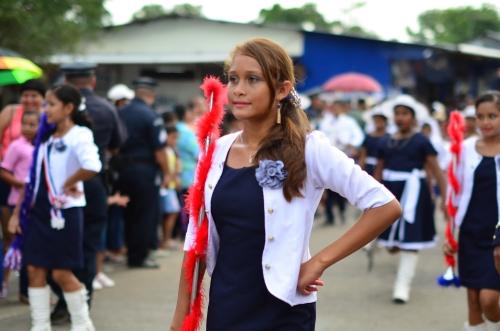 パナマ人美女