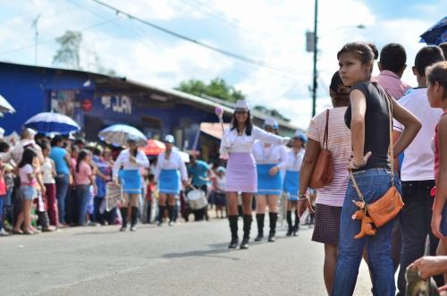 パレードの美しすぎる観客