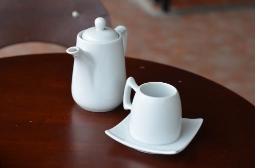 ボケテのコーヒーショップのゲイシャコーヒー