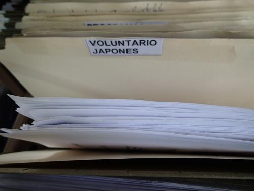 ボランティア用書類保管庫に提出した報告書類
