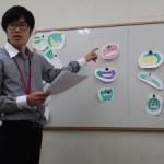 青年海外協力隊の派遣前訓練のスペイン語の語学研修で、初めてワークショップを開催した。