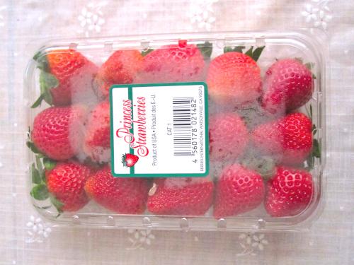 夏に出回る輸入イチゴ