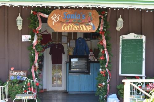 レリア農園のコーヒー喫茶店