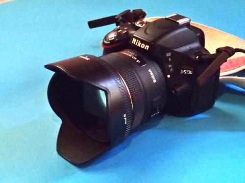 一眼レフカメラNikonD5100