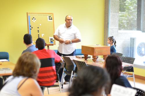 囲碁教室の先生
