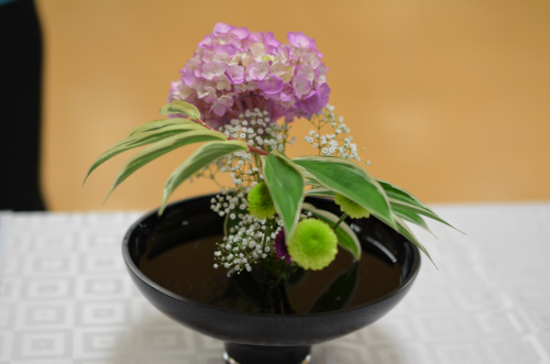 パナマの生け花