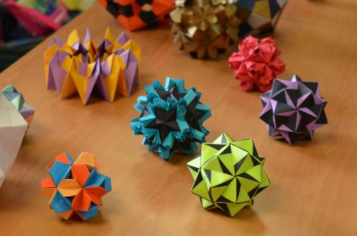 パナマ人が作った折り紙
