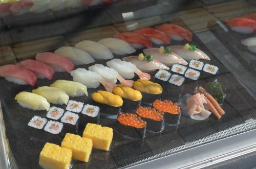 寿司のレプリカ