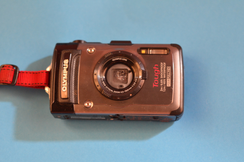 水没故障したオリンパスの防水カメラ