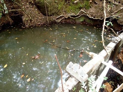 無電化集落の飲み水
