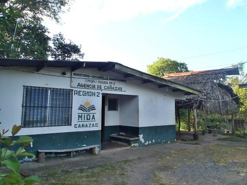 農牧省のパナマ国ベラグアス県カニャーサス郡支所