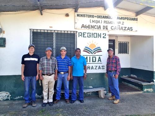 農牧省の同僚たち