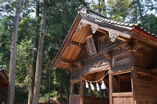 長野県飯田市の麻績神社
