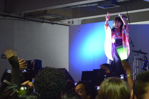 前田愛さんのコンサートinメキシコシティ
