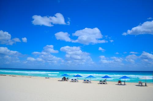 カンクンの無料で楽しめる綺麗なビーチ