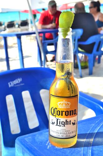 メキシコのビールコロナ・ライト