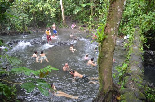 無料でタバコン温泉に入れる川