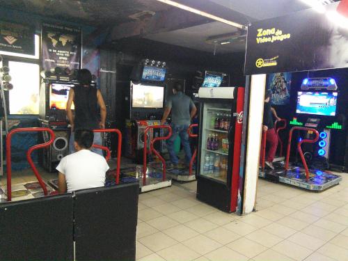 メキシコシティのゲームコーナー