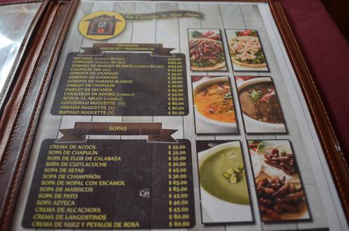 メキシコの伝統料理虫食が食べられる店