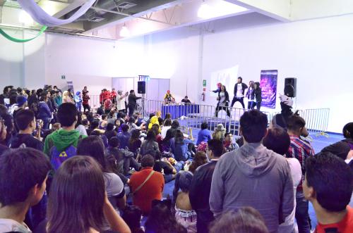 メキシコシティの韓流ダンスショー