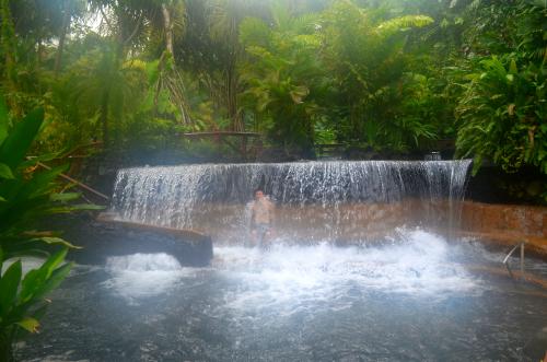 タバコン温泉体験