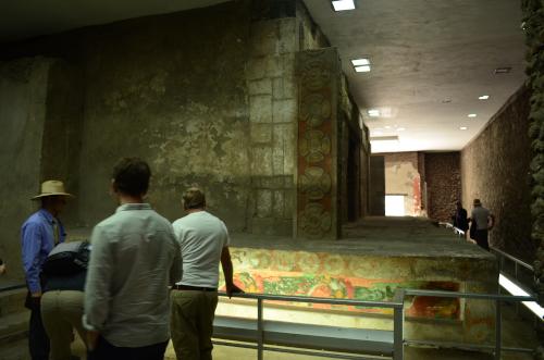 ジャガーの宮殿の内部の写真