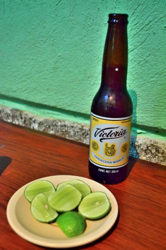 メキシコのビールビクトリア