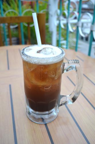 メキシコのビールカクテルミチェラーダ